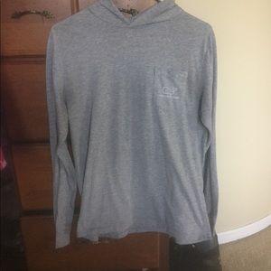 Long sleeved hoodie